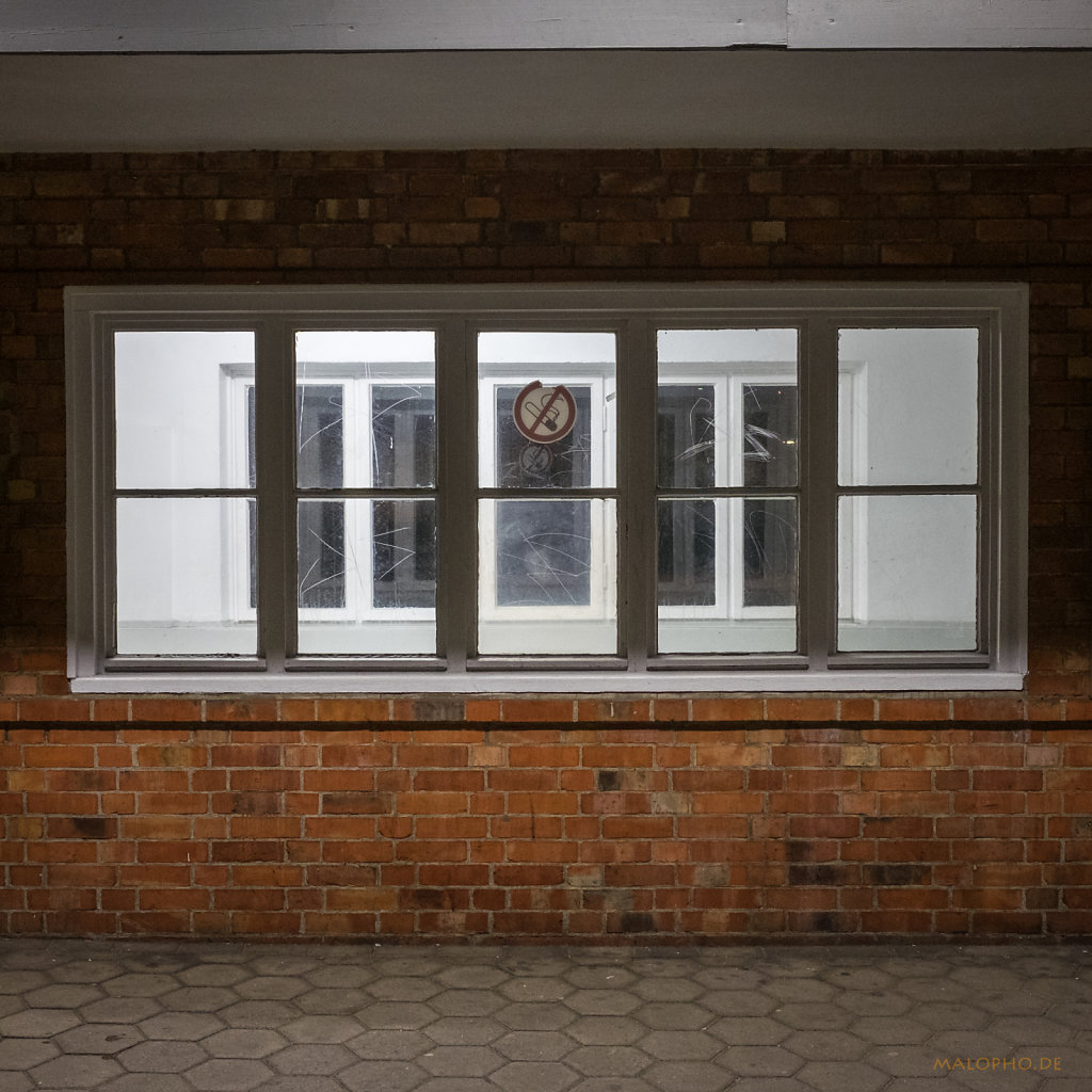 Fenster Wartehäuschen