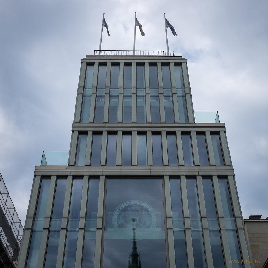 Börse mit Rathaus