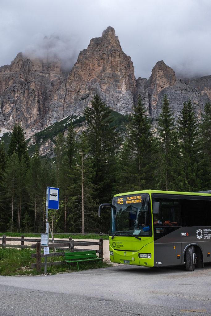 Bus nach Falzarego