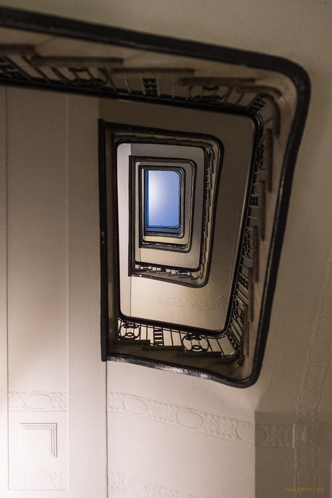Hillebrandhaus Seite Treppe