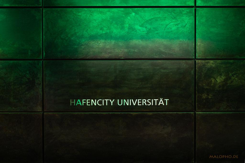 Hafen Uni grün