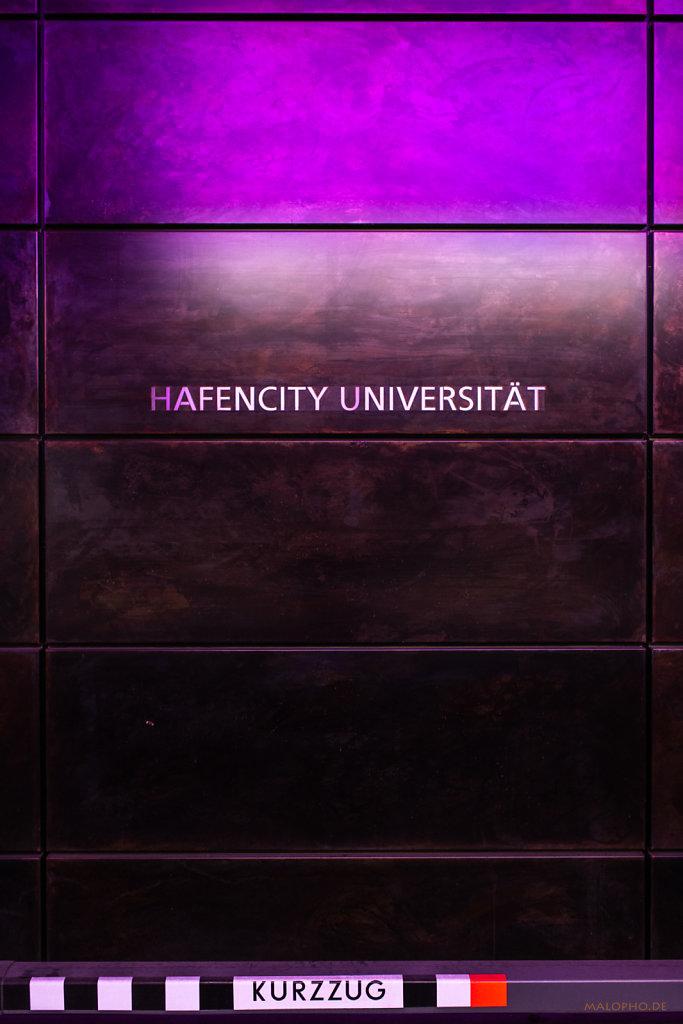 Hafen Uni violett