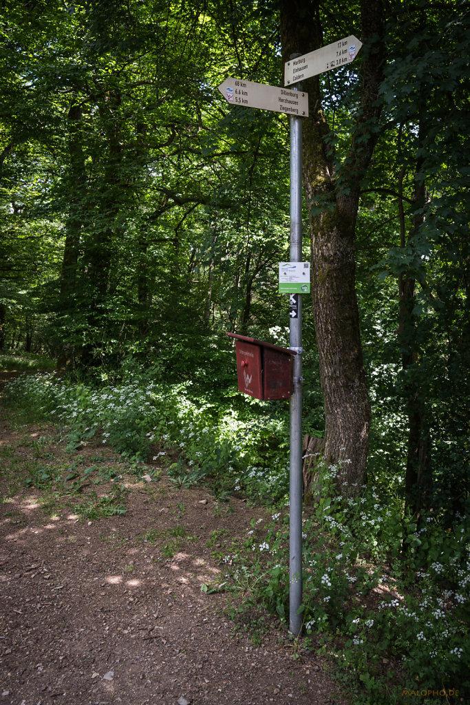 Weg zum Rimberg