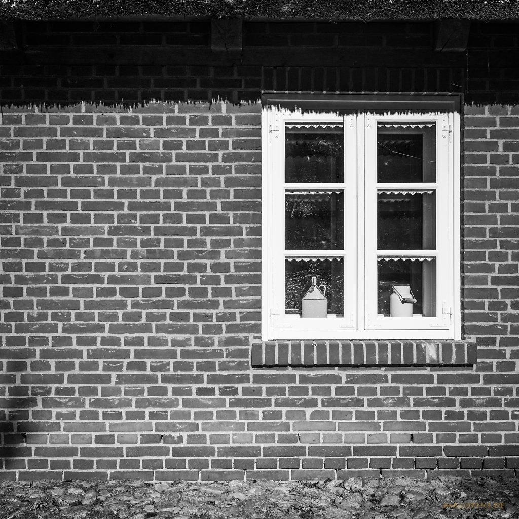 Fenster in Backstein